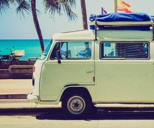 summer, beach, and vacation image