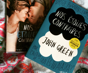 book, Shailene Woodley, and the fault in our stars image