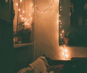 light, grunge, and room image