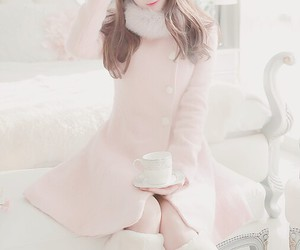 clothes, cup, and girly image