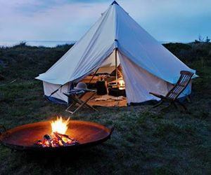 tent, fire, and camping image