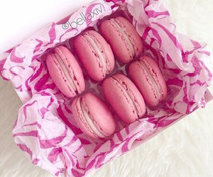 pink, dessert, and food image