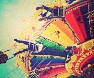 carousel, colour, and cool image