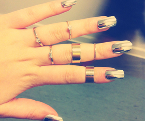 crazy, nails, and newfashion image