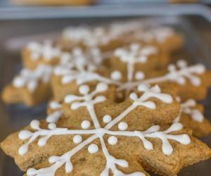 baking, christmas, and Cookies image