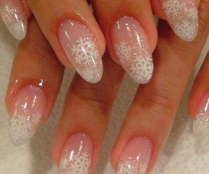 christmas, nail art, and nails image