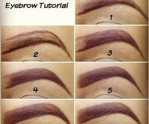 eyebrow, make-up, and make up image