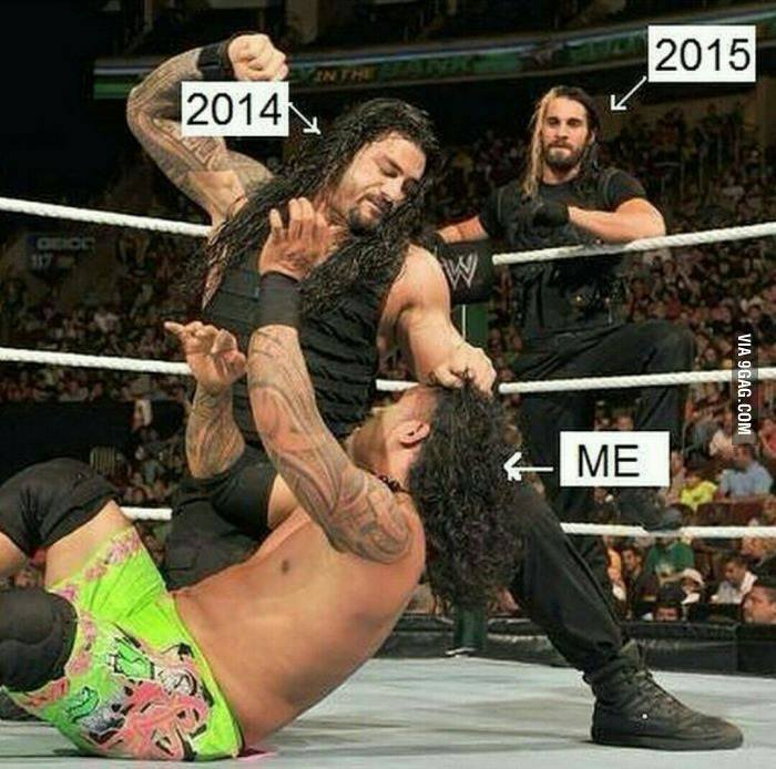 laugh, girl, and newyear image