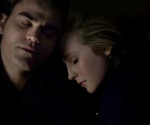 steroline, tvd, and the vampire diaries image