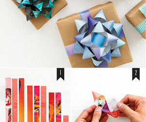 diy, gift, and bow image