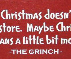 christmas, quotes, and grinch image
