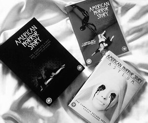 american horror story, ahs, and book image