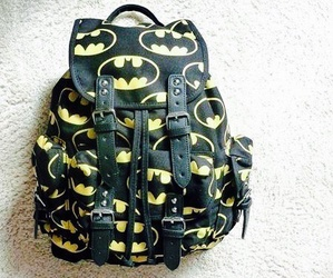 batman, bag, and backpack image