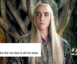 amen, the hobbit, and thranduil image