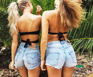 blond, girls, and outfit image