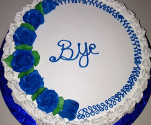 cake, pale, and bye image