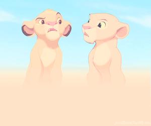 simba, wallpaper, and the lion king image