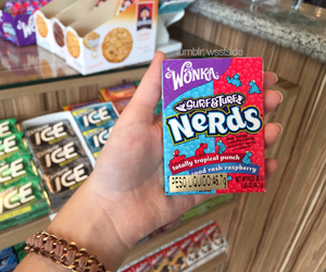 food, quality, and nerds image