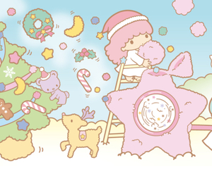 christmas, merry christmas, and sanrio image