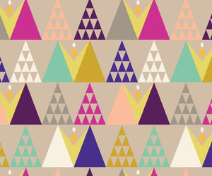 wallpaper and triangle image