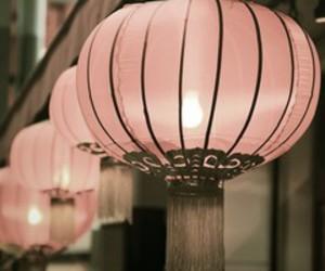 lantern and pink image