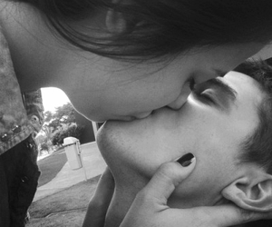 couple, kiss, and cute couple image