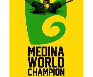 champion, surf, and gabriel medina image