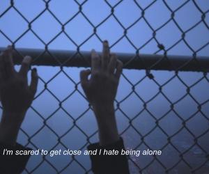 alone, bring me the horizon, and dark image