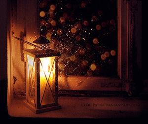 candles, christmas, and flashlight image