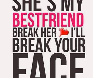 face, bestfriend, and love image