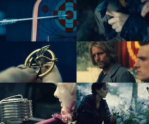 katniss, mockingjay, and haymitch image