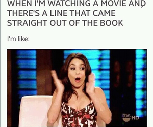 book, fandom, and movies image
