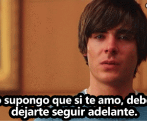 frases, zac efron, and movie image