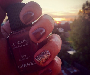 chanel, sunset, and girls image
