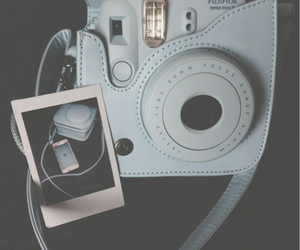 photo, blue, and vintage image