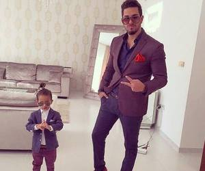 boy, style, and dad image