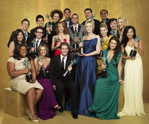 award, glee, and glee cast image