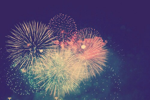 dreams, fireworks, and photography image