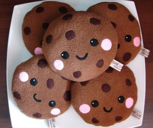 cute, Cookies, and kawaii image
