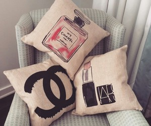 chanel, pillow, and nars image