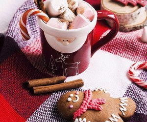 biscuit, chistmas, and chocolat image