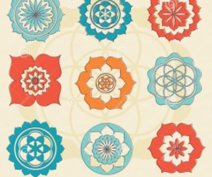 flower of life, flower of life wallpaper, and flower of life symbol image