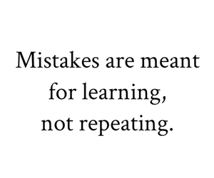 are, learning, and mistakes image
