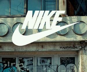 nike, graffiti, and sport image