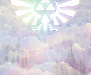 zelda, game, and triforce image
