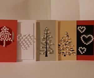 christmas, diy, and pearls image