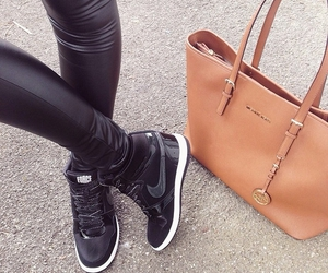 bag, fashion, and nike image