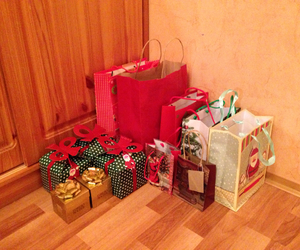 bags, christmas, and happy new year image