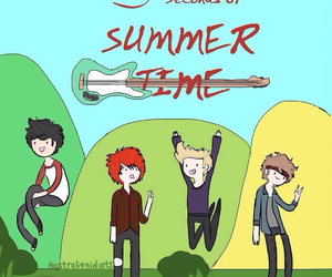 art, adventure time, and 5sos image