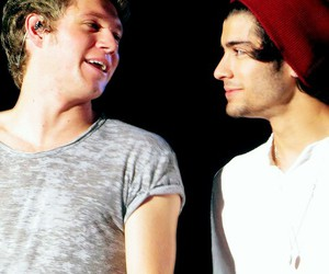 niall horan, zayn malik, and ziall image